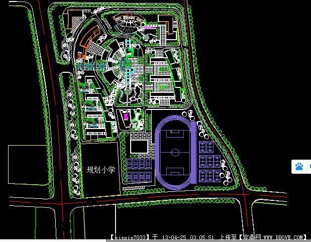 大学校园设计规划设计方案图片