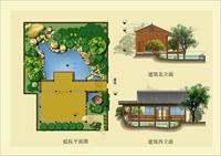 庭院景观方案图