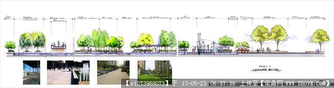 常州河景花园全套景观手绘扩初文本-004d-d剖面 拷贝.jpg