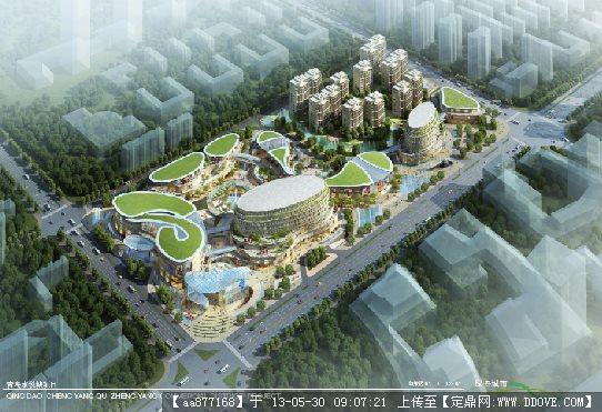 青岛水悦城商业综合体项目设计文本(日本设计)2011