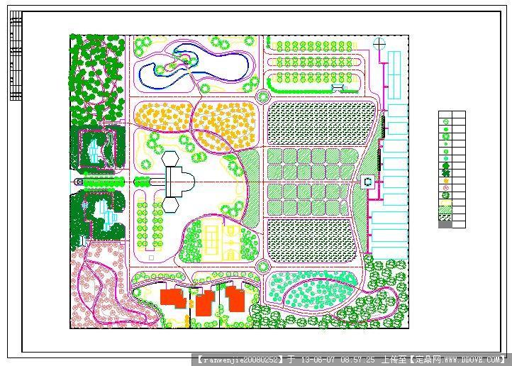 农业观光园的cad图纸主减速器cad图片