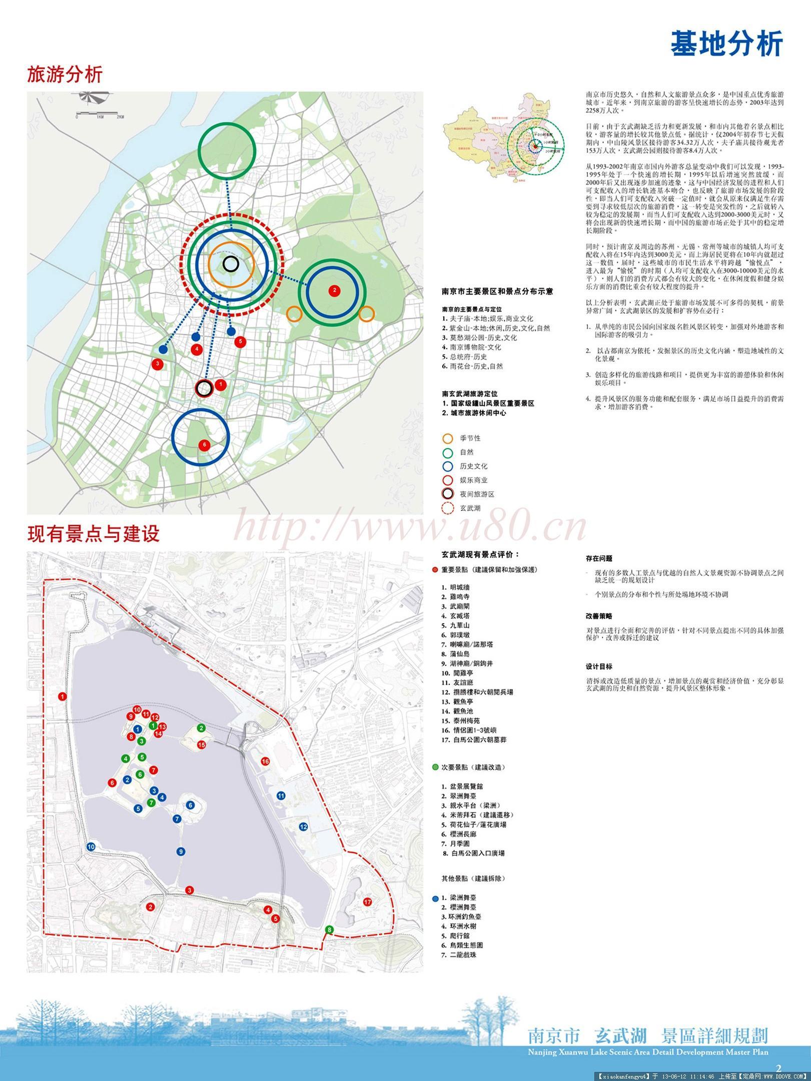 景观规划案例(南京玄武湖景区详细规划)-xwh03.