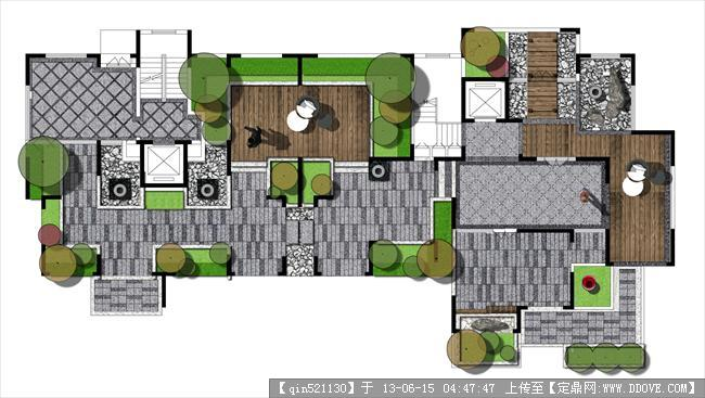[住宅样板]新中式家具