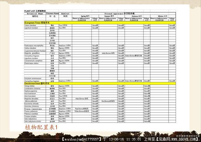 小区绿化景观设计-37植物配置表1.jpg