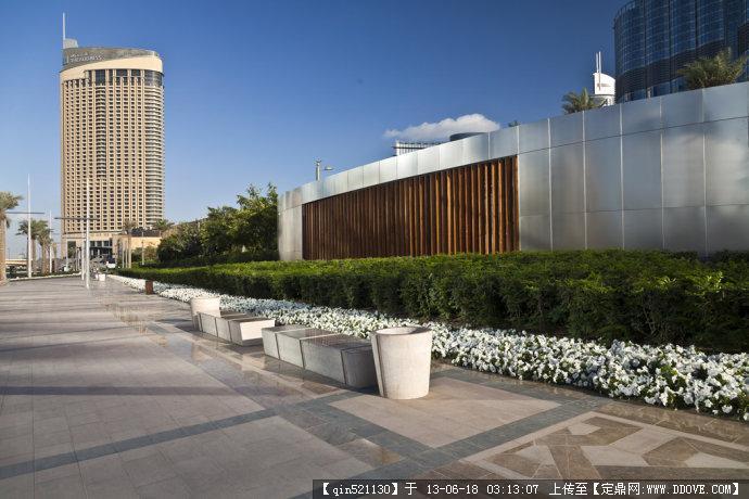 迪拜塔公园景观设计