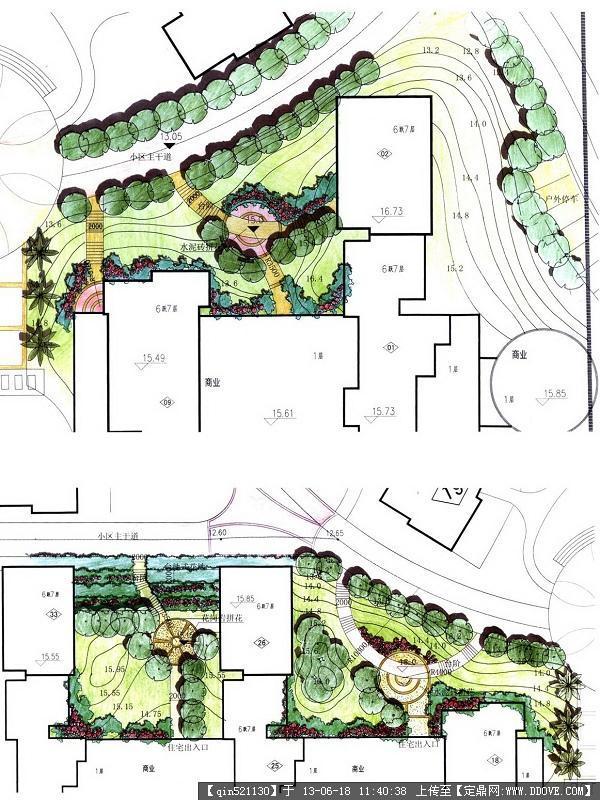 入口景觀設計平面合集的圖片瀏覽