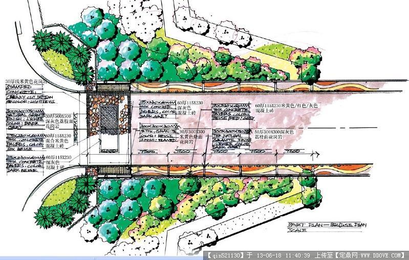 入口景观设计平面合集的图片浏览