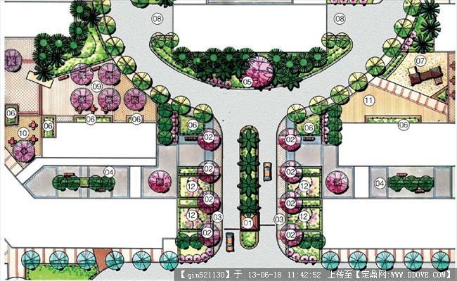 入口景观设计平面合集的图片浏览,园林节点扩初,景观