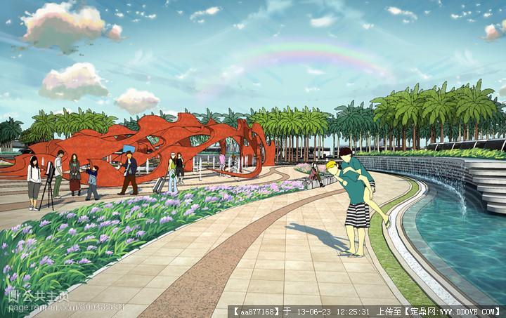 景观设计达人(灰晕作品)的图片浏览,园林效果图,花园