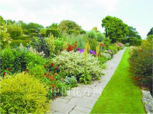 庭院花镜植物配置案例