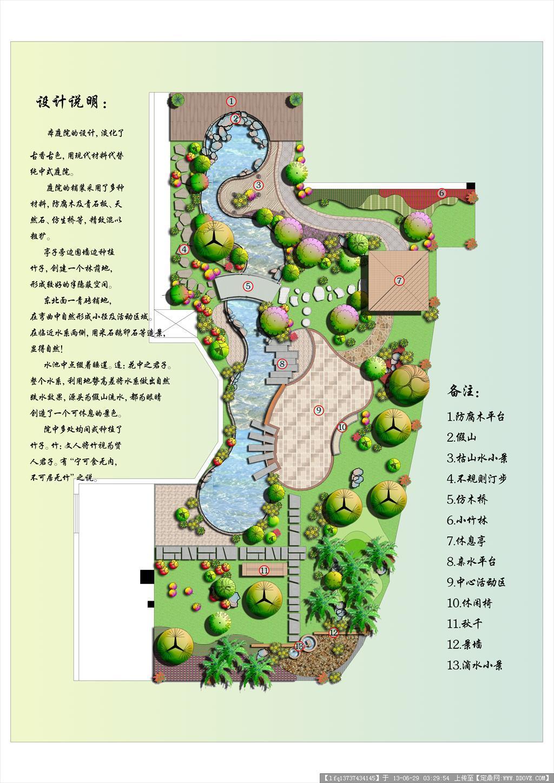 庭院景观设计方案全套