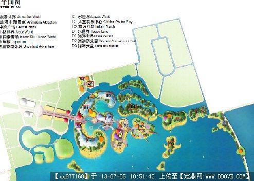 某海滨主题公园概念规划设计2011