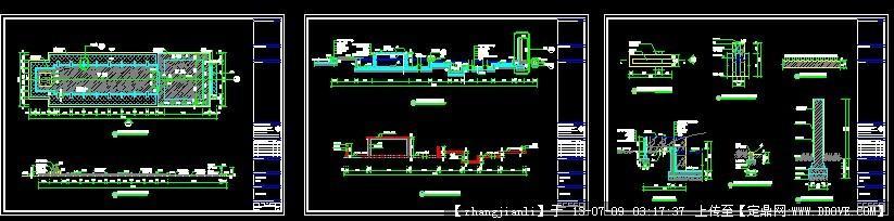 喷泉水池施工图