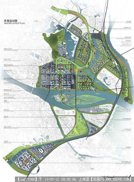某中心城区核心区城市设计方案2012