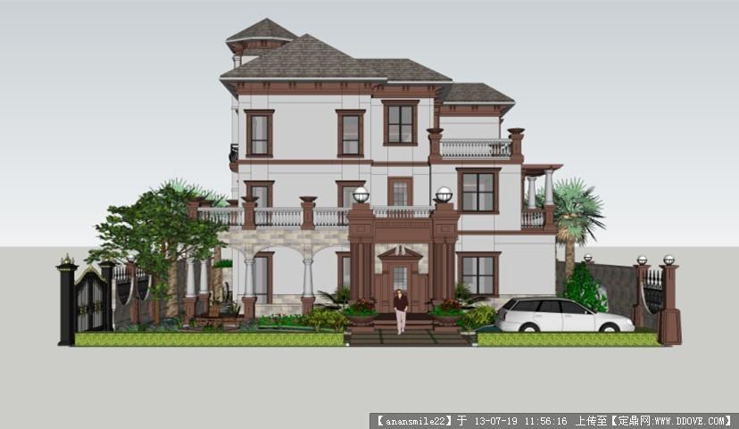 别墅建筑与景观设计方案图的下载地址,园林项目案例