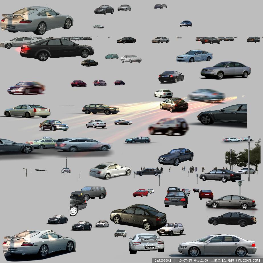 史上最全各类汽车后期素材