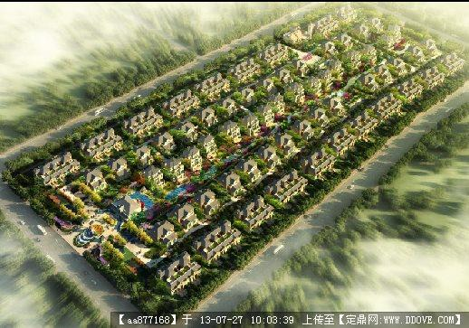 某别墅区景观概念设计2011的下载地址,园林设计文本