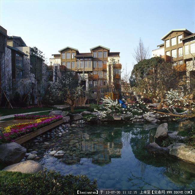 成都麓山国际_成都麓山国际高档别墅小区实景高清图片