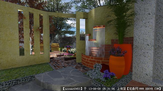 庭园景观的图片浏览,园林效果图,花园庭院,园林景观设计施工图