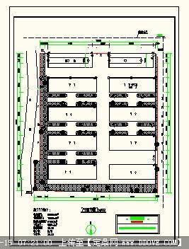 饲料厂平面设计图_某工厂总平面布置规划图