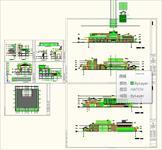 旅馆建筑cad方案图