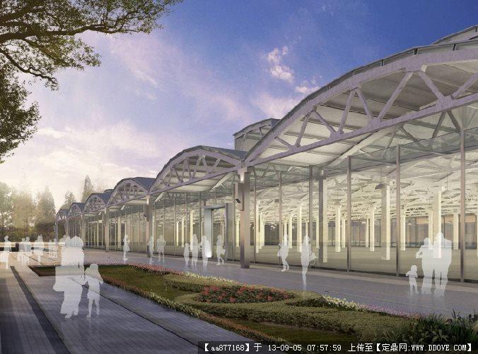 某藝術中心建筑規劃概念設計2013