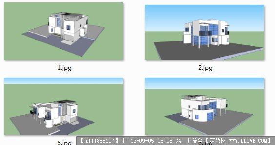某市总部经济地块建筑方案概念性设计 钢结构设计方案图纸cad 钢结构