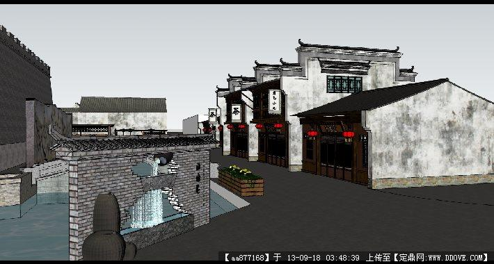 建筑设计精品模型的下载地址,sketchup草图大师模型,景观规划,