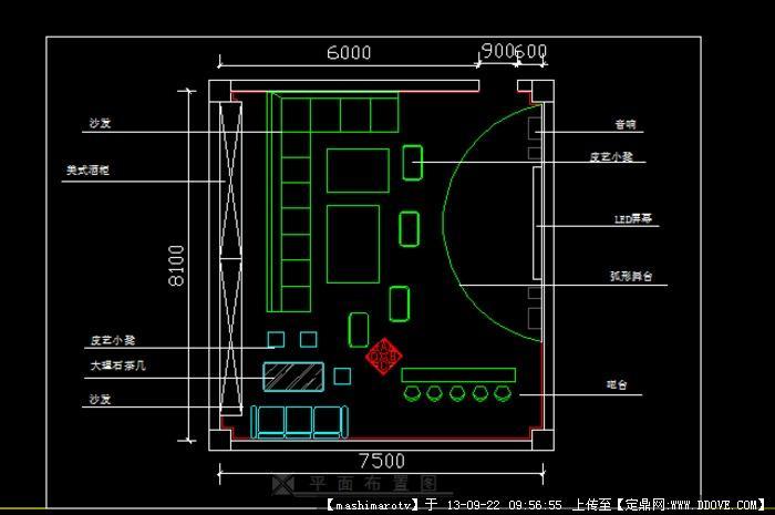 ktv设计图
