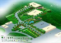 厂区绿化效果图