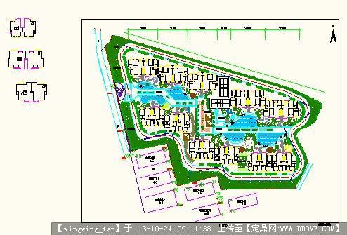 小区规划设计方案图