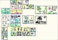 cad幼儿园方案图