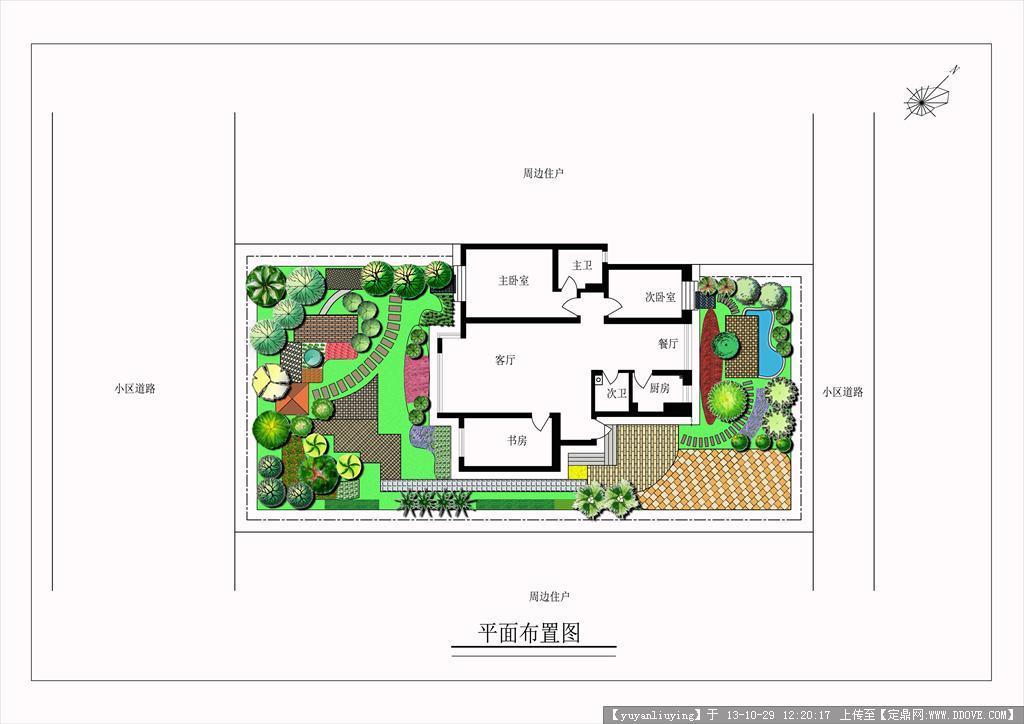 紫檀山别墅种植设计