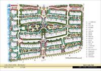 某地居住区设计图