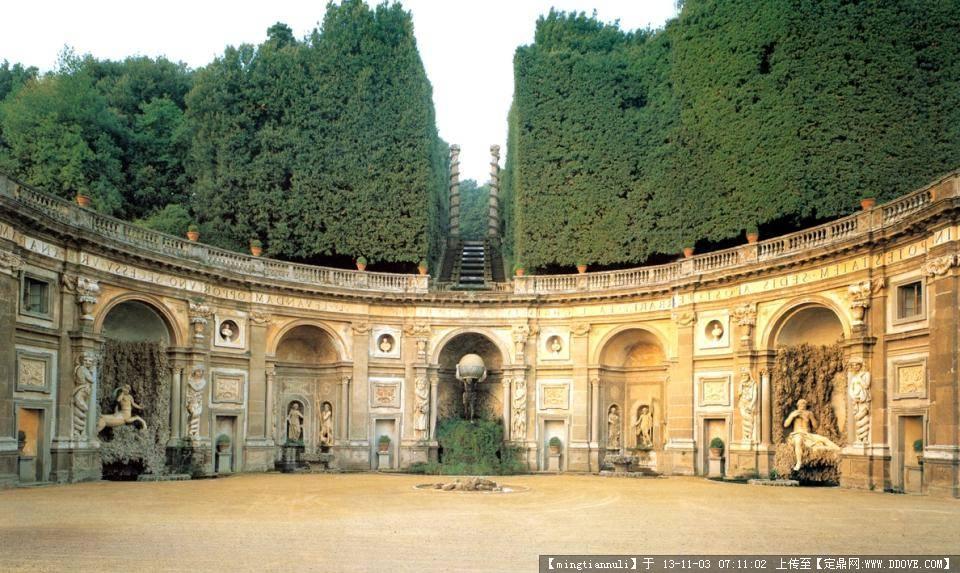 西方园林 古埃及波斯园林到现代园林图片