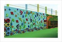 幼儿园运动墙设计