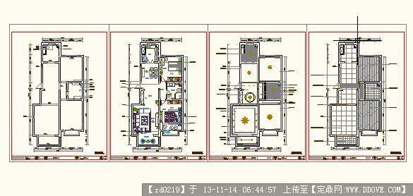 室内设计方案平面布局图