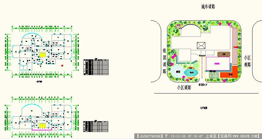 六班幼儿园平面图图片