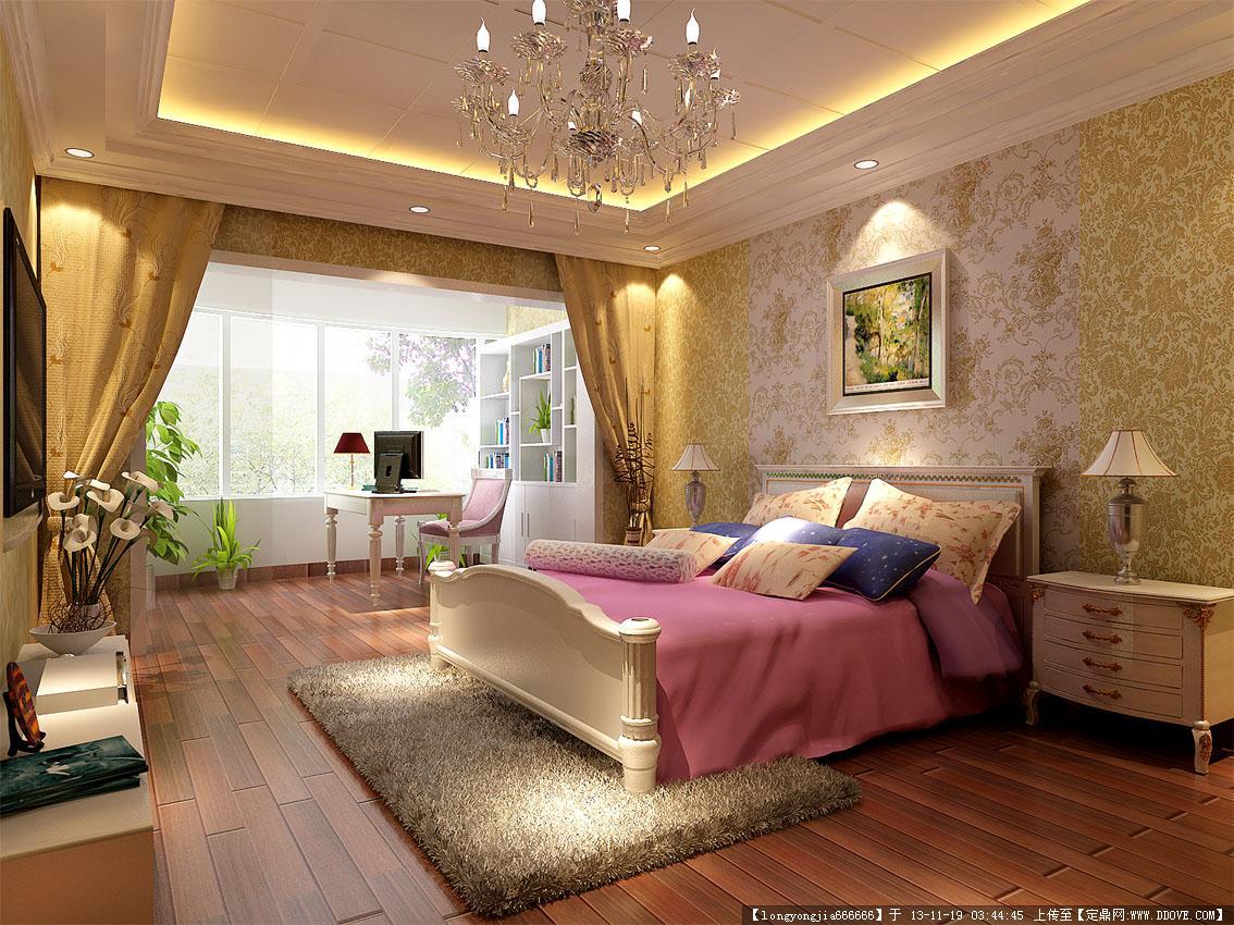 田園風格室內設計效果圖的圖片瀏覽,室內效果圖,住宅