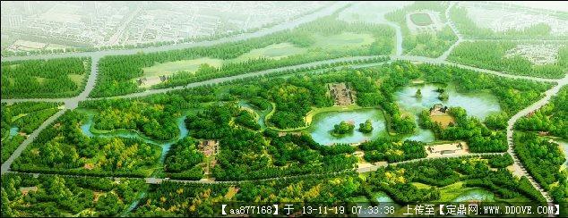 三海子郊野公园一期设计方案2010——北林地景