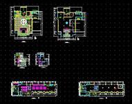 酒店室内设计CAD