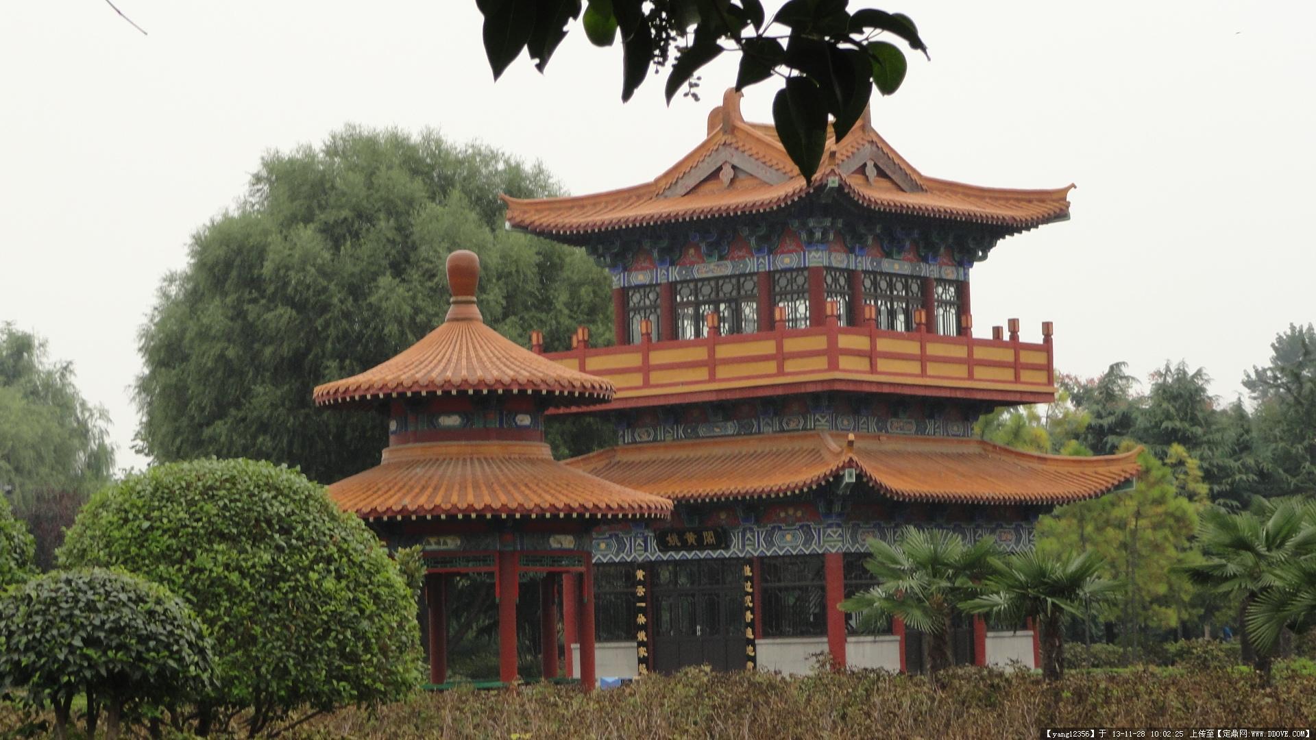 中国古城开封古建实景照片