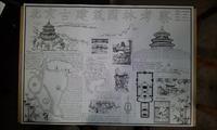 北京城市规划考察手绘效果图