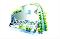 儿童游乐园 手绘方案设计
