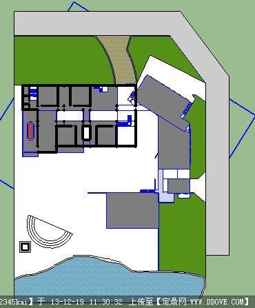 cad图如何导入3d_如何用草图大师画平面图和立面图-草图大师都是导入CAD的平面图 ...