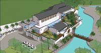 科技馆SketchUp建筑与景观精品模型