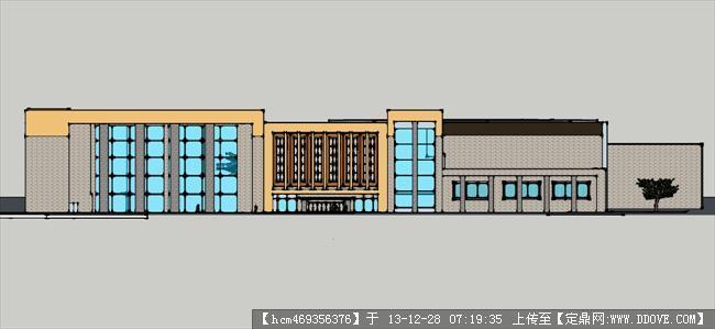华南大学图书馆设计方案