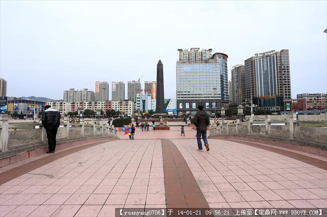 六盤水人民廣場景觀設計實景圖片