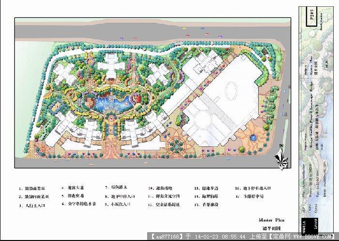 某地方居住區景觀設計方案圖