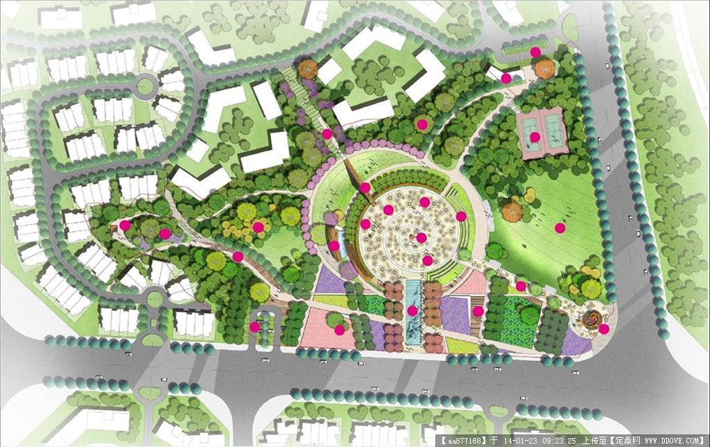 湘潭集约用地示范区公共空间景观设计——泛亚